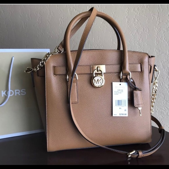 $298 Michael Kors Hamilton Handbag Purse MK Bag NWT